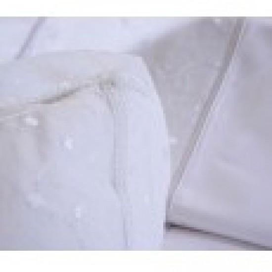 Σετ Νυφικό Κουβερλί Σχ. 1015  Χρ. Λευκό Νυφική συλλογή
