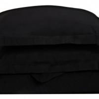 Ζεύγος Μαξιλαροθήκες Oxford 50x70+5 Luxury 11 Black