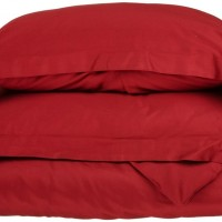 Ζεύγος Μαξιλαροθήκες Oxford 50x70+5 Luxury 12 Red