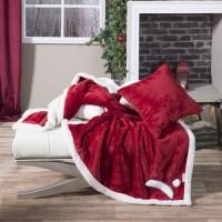 Ριχτάρι - Κουβέρτα Καναπέ Red Hut - 130x160cm