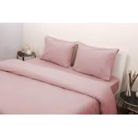 Ζεύγος Μαξιλαροθήκες Φανέλλα 50x70 3100 Ροζ
