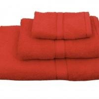 Πετσέτα μονόχρωμη λουτρού 70Χ140 Classic Κόκκινο