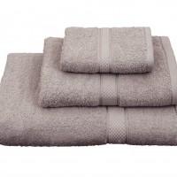 Πετσέτα μονόχρωμη λουτρού 70Χ140 Classic Γκρι σκούρο