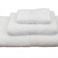 Πετσέτα μονόχρωμη λουτρού 70Χ140 Classic Λευκό